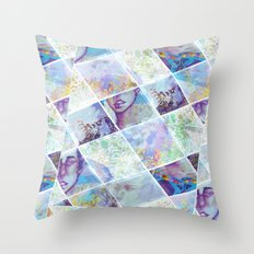 Looking for Signs Throw Pillow