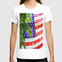 flag T-shirts featuring Flag by Jodi Kassowitz Photography