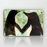 Laptop & iPad Skin featuring Penguins by James Peart