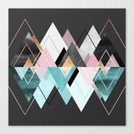 Canvas Print featuring Nordic Seasons by Elisabeth Fredriksso…