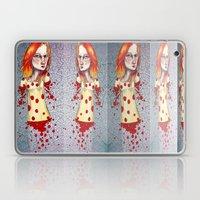Fiery Haired Laptop & iPad Skin