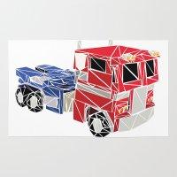 The Optimus Prime Rug