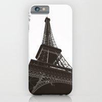 eiffel iPhone & iPod Cases featuring eiffel by samantha lawson