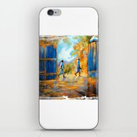 The Blue Gates /Haiti iPhone & iPod Skin