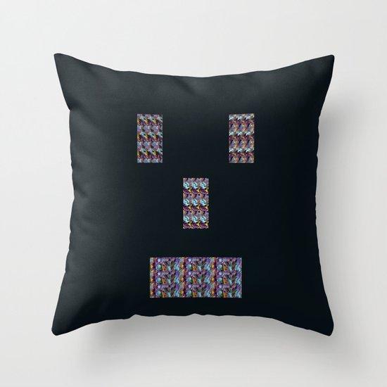Mister Roboto Throw Pillow