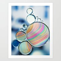 Oil And Water Art Print
