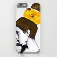 bee iPhone & iPod Cases featuring The Bee Hive  by Jenny Liz Rome