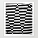"""Hand Drawn """"Up or Down"""" Zendoodle Art Print"""