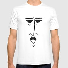 Facurka White SMALL Mens Fitted Tee
