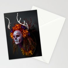 Autumn Muertita Side Stationery Cards
