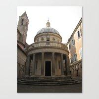 Bramante's Tempietto Canvas Print