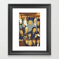 The Fellowship Of The Ri… Framed Art Print