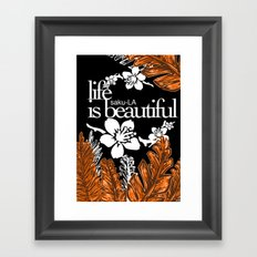 SAKU-LA Framed Art Print
