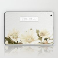 Close Your Eyes | Clear Your Mind Laptop & iPad Skin