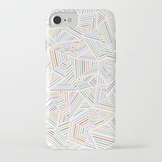 Abstraction Linear Rainbow iPhone 7 Slim Case