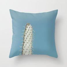 no. 1 cactus Throw Pillow