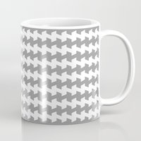 jaggered and staggered in alloy Mug