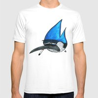 Regular show Mens Fitted Tee White SMALL