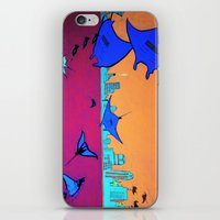 Manta Madness iPhone & iPod Skin