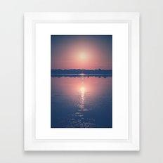 Paradise Takes Time  Framed Art Print