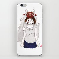 Forest Guardians iPhone & iPod Skin