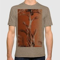 Chase The Breeze Mens Fitted Tee Tri-Coffee SMALL