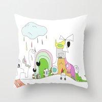Funland 1 Throw Pillow
