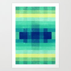 Almost Spring Abstract  Art Print