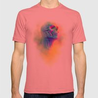 SKULL CANDY Mens Fitted Tee Pomegranate SMALL