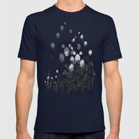 Klee Mens Fitted Tee Navy SMALL