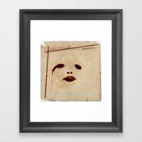 Introspective Identity Framed Art Print