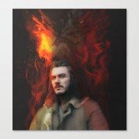 Bard the Dragon Slayer Canvas Print