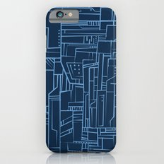 Electropattern (Blue) iPhone 6s Slim Case