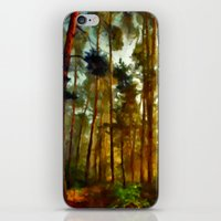 Morning In The Woods - Painting Style iPhone & iPod Skin