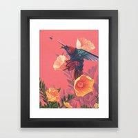 Pollinators II Framed Art Print