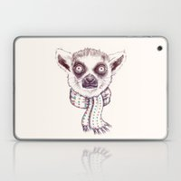 Lemur And Scarf  Laptop & iPad Skin