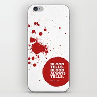 Dexter no.6 iPhone & iPod Skin