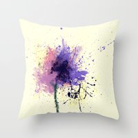Chaotic Nature Throw Pillow
