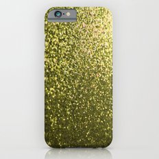 Gold Glitter Sparkle iPhone 6 Slim Case