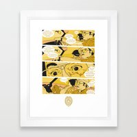 Holy Jesus, What Are These Goddammed Animals? Framed Art Print