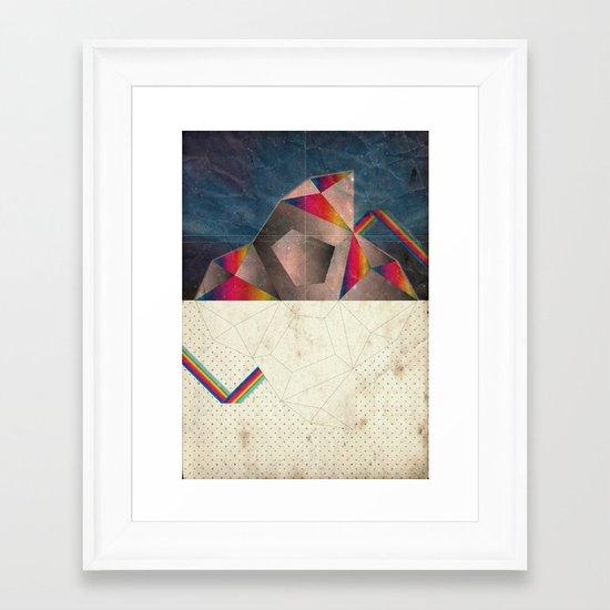 SpaCE_oToLanD Framed Art Print