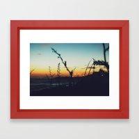 Away From The City Framed Art Print
