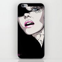 The Girl iPhone & iPod Skin