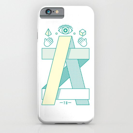 A to Z iPhone & iPod Case