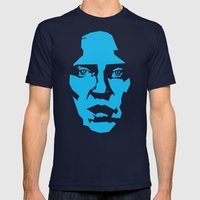 Walken Mens Fitted Tee Navy SMALL