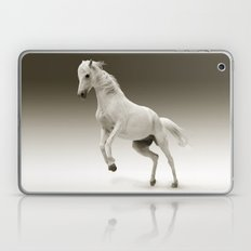 White Mare, horse Laptop & iPad Skin