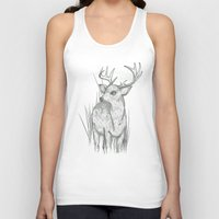 White-Tailed  Unisex Tank Top