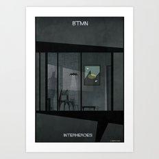 01_INTERHEROES_btmn Art Print