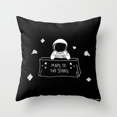 Selling Maps to the Stars Throw Pillow