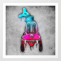 Mad Dog Art Print